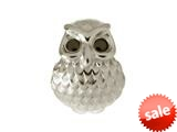 Endless Jewelry Owl Silver Black Cubic Zirconia Rhodium Silver Finish style: 41351