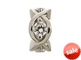 Endless Jewelry White Heaven Silver White Cubic Zirconia Rhodium Silver Finish style: 414001