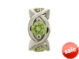 Endless Jewelry Peridot Heaven Silver Peridot Cubic Zirconia Rhodium Silver Finish style: 414003