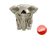 Endless Jewelry Elephant Silver White Cubic Zirconia Rhodium Silver Finish style: 41401