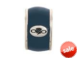 Endless Jewelry Navy Endless Enamel Silver Navy Enamel Rhodium Silver Finish style: 4210010
