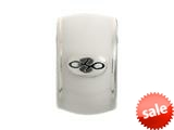 Endless Jewelry White Endless Enamel Silver White Enamel Rhodium Silver Finish style: 421008