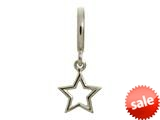 Endless Jewelry Star Silver Rhodium Silver Finish style: 43201