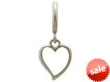 Endless Jewelry Big Heart Silver Rhodium Silver Finish style: 43203