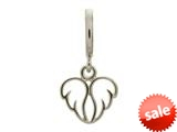Endless Jewelry Angel Wings Silver Rhodium Silver Finish style: 43208