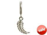 Endless Jewelry Feather Silver Rhodium Silver Finish style: 43209