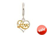 Endless Jewelry Love Silver Rhodium Silver Finish style: 43250