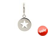 Endless Jewelry Star Coin Silver Rhodium Silver Finish style: 43260