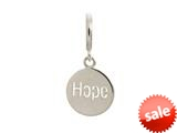 Endless Jewelry Hope Coin Silver Rhodium Silver Finish style: 43264