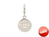 Endless Jewelry Friends Coin Silver Rhodium Silver Finish style: 43265