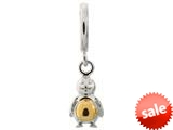 Endless Jewelry Penguin Silver Rhodium Silver Finish style: 43300