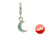 Endless Jewelry Sky Blue Moon Shine Drop Silver Sky Blue Cubic Zirconia Rhodium Silver Finish style: 433033