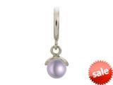 Endless Jewelry Purple Apple Pearl Silver Purple Pearl Rhodium Silver Finish style: 433055