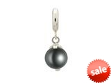 Endless Jewelry Black Pearl Dream Silver Black Pearl Rhodium Silver Finish style: 433514