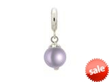 Endless Jewelry Purple Pearl Dream Silver Purple Pearl Rhodium Silver Finish style: 433515