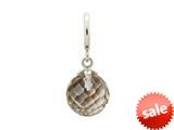 Endless Jewelry Smokey Love Drop Silver Smokey Crystal Rhodium Silver Finish style: 433521