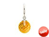 Endless Jewelry Citrine Love Drop Silver Citrine Crystal Rhodium Silver Finish style: 433528