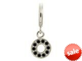 Endless Jewelry Black Circle Of Love Silver Black Cubic Zirconia Rhodium Silver Finish style: 435002