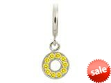 Endless Jewelry Citrine Circle Of Love Silver Citrine Cubic Zirconia Rhodium Silver Finish style: 435004