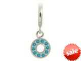 Endless Jewelry Sky Blue Circle Of Love Silver Sky Blue Cubic Zirconia Rhodium Silver Finish style: 435005