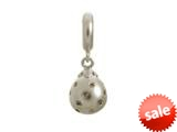 Endless Jewelry Smokey Star Drop Silver Smokey Cubic Zirconia Rhodium Silver Finish style: 438002