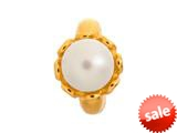 Endless Jewelry White Pearl Flower White Pearl Gold-Tone Finish style: 512521
