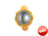 Endless Jewelry Grey Pearl Flower Grey Pearl Gold-Tone Finish style: 512523