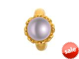Endless Jewelry Purple Pearl Flower Purple Pearl Gold-Tone Finish style: 512525