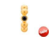 Endless Jewelry Black Flashy Dot Black Cubic Zirconia Gold-Tone Finish style: 512532