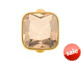 Endless Jewelry Big Rose Cube Rose Crystal Gold-Tone Finish style: 513024