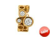 Endless Jewelry Multi Gemstones White White Cubic Zirconia Gold-Tone Finish style: 513033