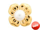 Endless Jewelry Big White Pearl Flower White Pearl Gold-Tone Finish style: 51402