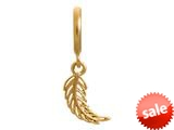 Endless Jewelry Feather Gold-Tone Finish style: 53251