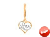 Endless Jewelry Love Gold-Tone Finish style: 53350