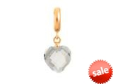 Endless Jewelry Clear Heart Cut Drop Clear Crystal Gold-Tone Finish style: 533511