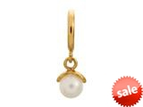 Endless Jewelry White Apple Pearl White Pearl Gold-Tone Finish style: 533531