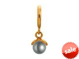 Endless Jewelry Grey Apple Pearl Grey Pearl Gold-Tone Finish style: 533532