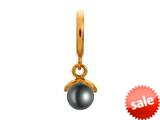 Endless Jewelry Black Apple Pearl Black Pearl Gold-Tone Finish style: 533534