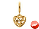 Endless Jewelry Heart Beat Love Gold-Tone Finish style: 53450