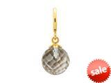 Endless Jewelry Smokey Love Drop Smokey Crystal Gold-Tone Finish style: 534511