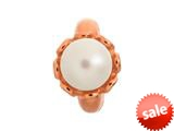 Endless Jewelry White Pearl Flower White Pearl Rose Gold-Tone Finish style: 612511