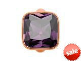 Endless Jewelry Big Amethyst Cube Amethyst Crystal Rose Gold-Tone Finish style: 613021