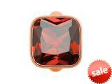 Endless Jewelry Big Garnet Cube Garnet Crystal Rose Gold-Tone Finish style: 613022