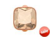 Endless Jewelry Big Rose Cube Rose Crystal Rose Gold-Tone Finish style: 613024