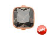 Endless Jewelry Big Smokey Cube Smokey Crystal Rose Gold-Tone Finish style: 613025
