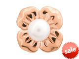 Endless Jewelry Big White Pearl Flower White Pearl Rose Gold-Tone Finish style: 61450