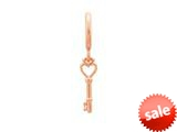 Endless Jewelry Key Of The Heart Rose Gold-Tone Finish style: 63150