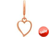 Endless Jewelry Big Heart Rose Gold-Tone Finish style: 63202