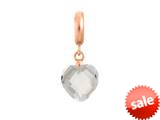 Endless Jewelry Clear Heart Cut Drop Clear Crystal Rose Gold-Tone Finish style: 633511
