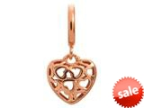 Endless Jewelry Heart Beat Love Rose Gold-Tone Finish style: 63450